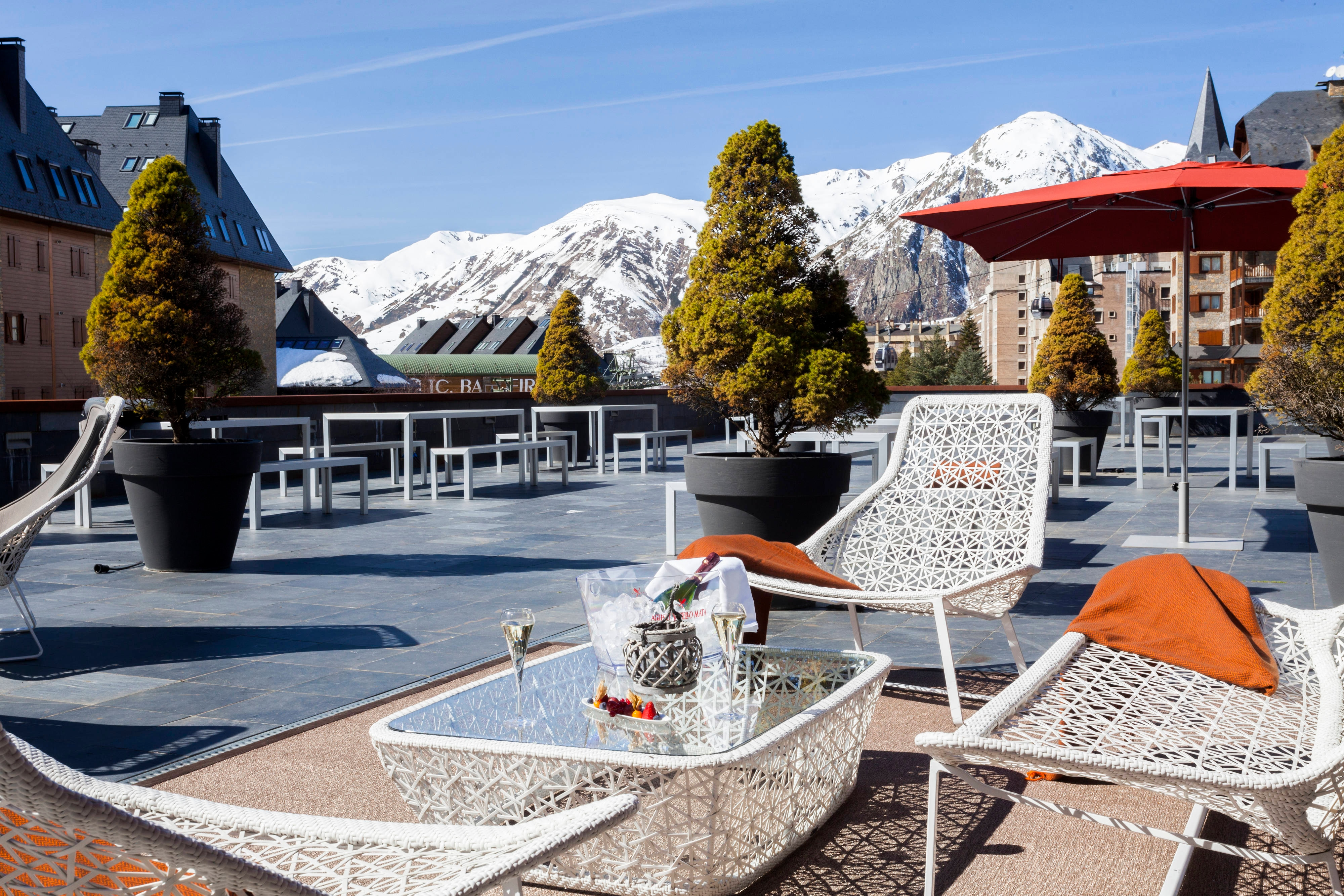AC Baqueira Ski Resort Terrace