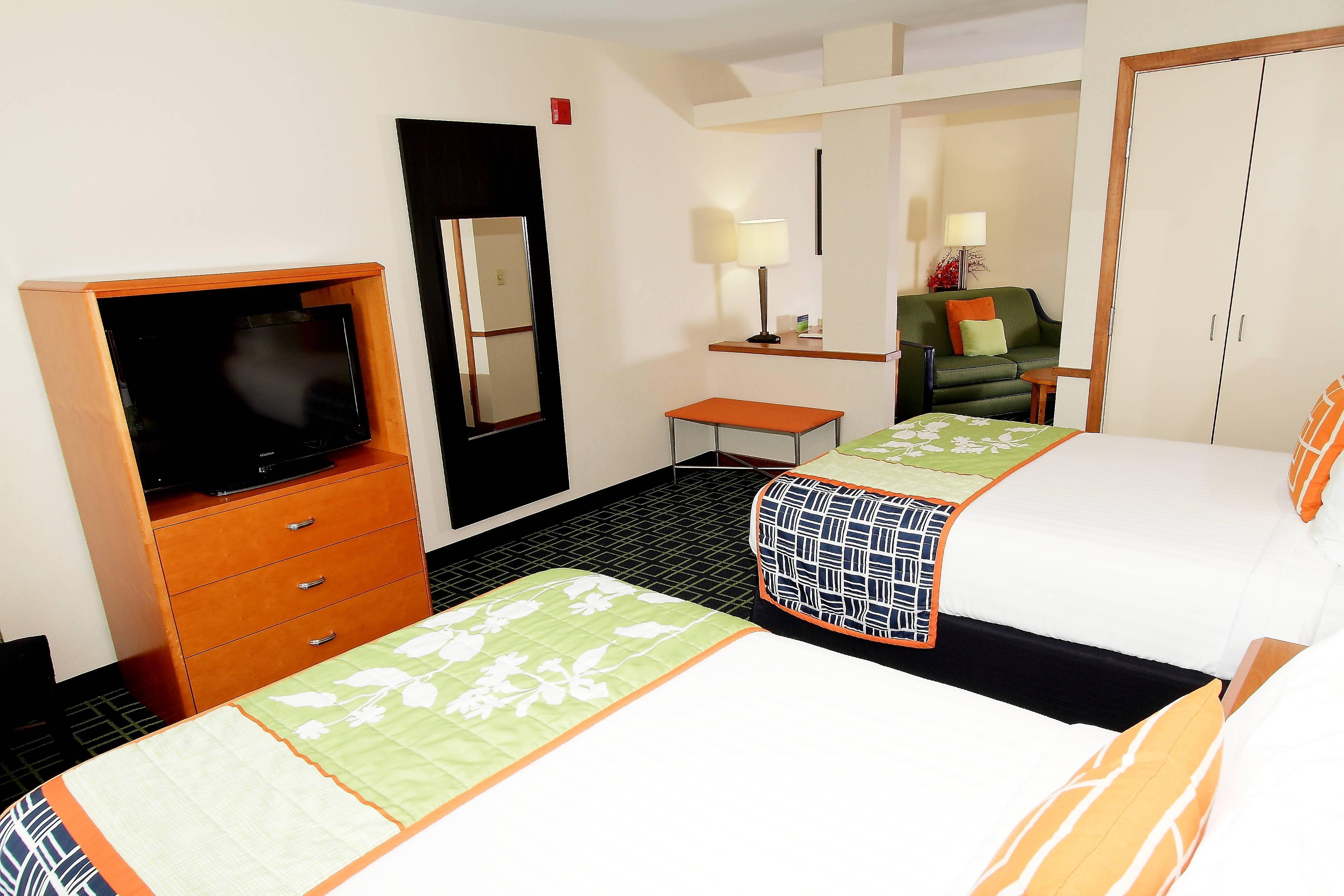 Executive Suite mit zwei Doppelbetten