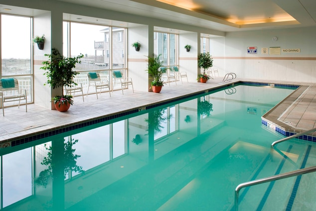 Indoor Pool - Carolina Beach Courtyard