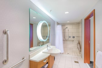 King Suite Accessible Bathroom