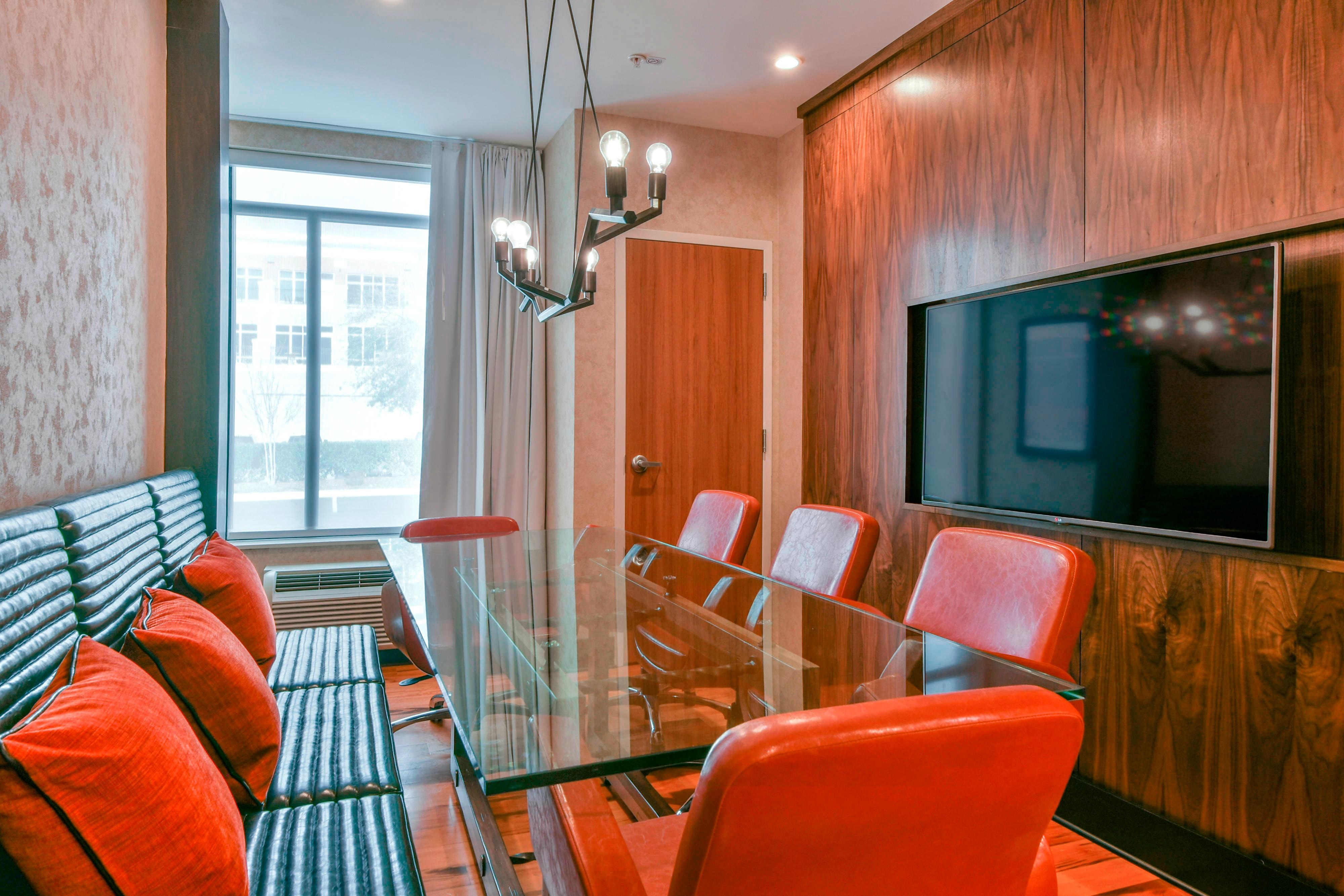 Eight top boardroom table