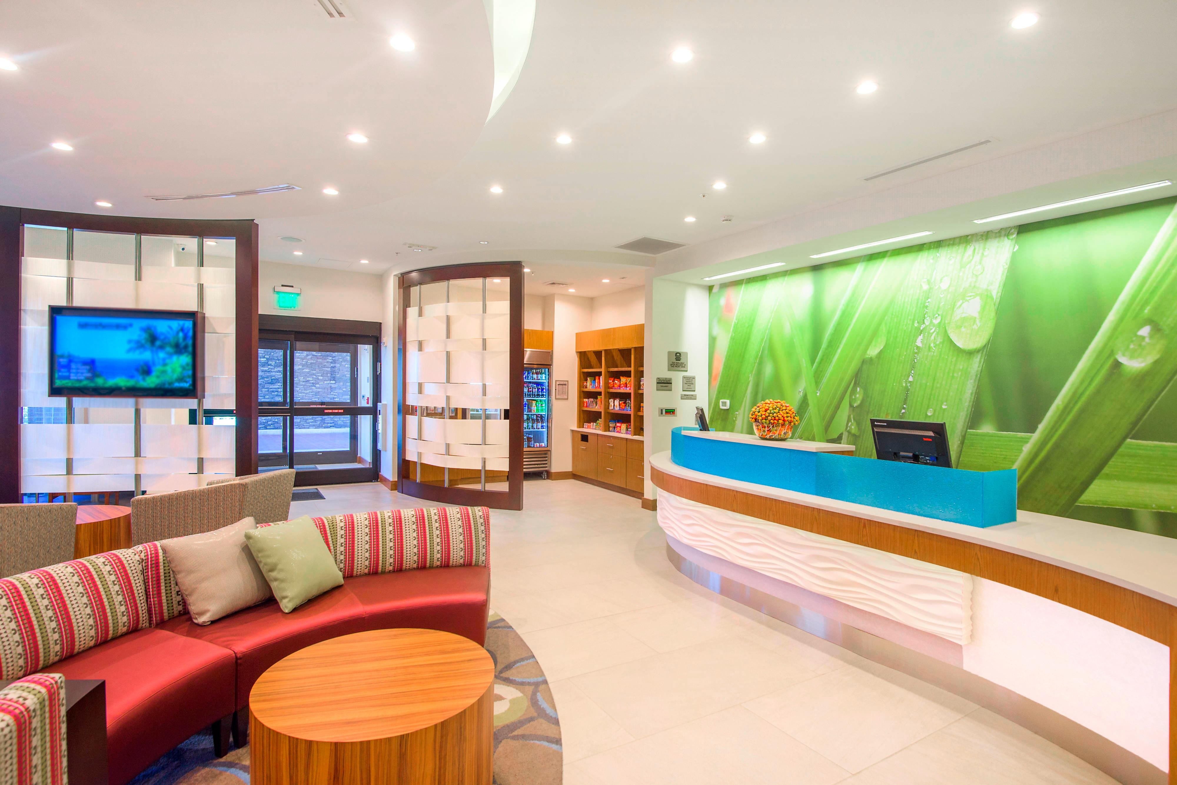 Guest Services at the Front Desk