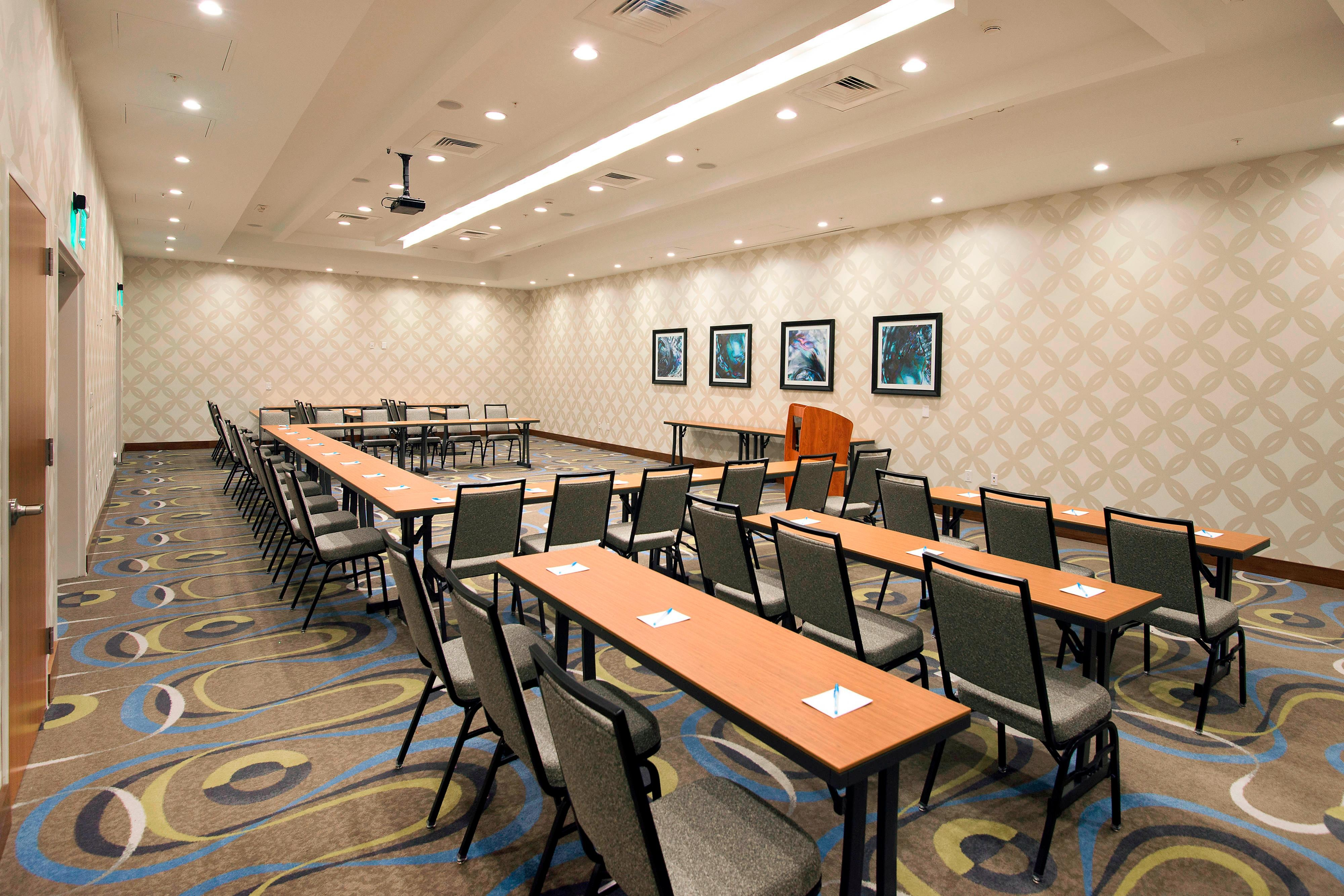 Meeting Room with Classroom Seating