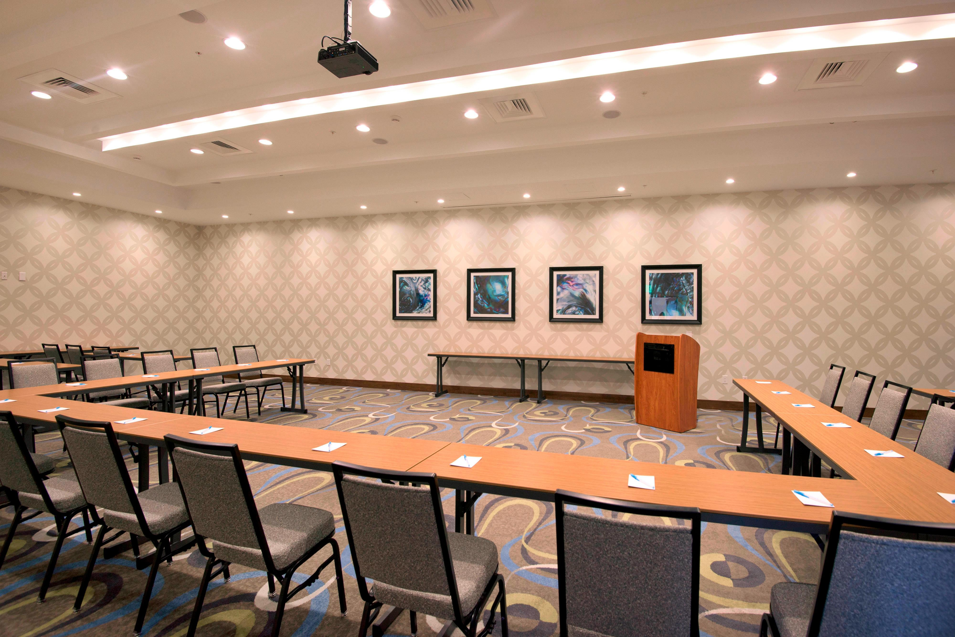 First floor event space