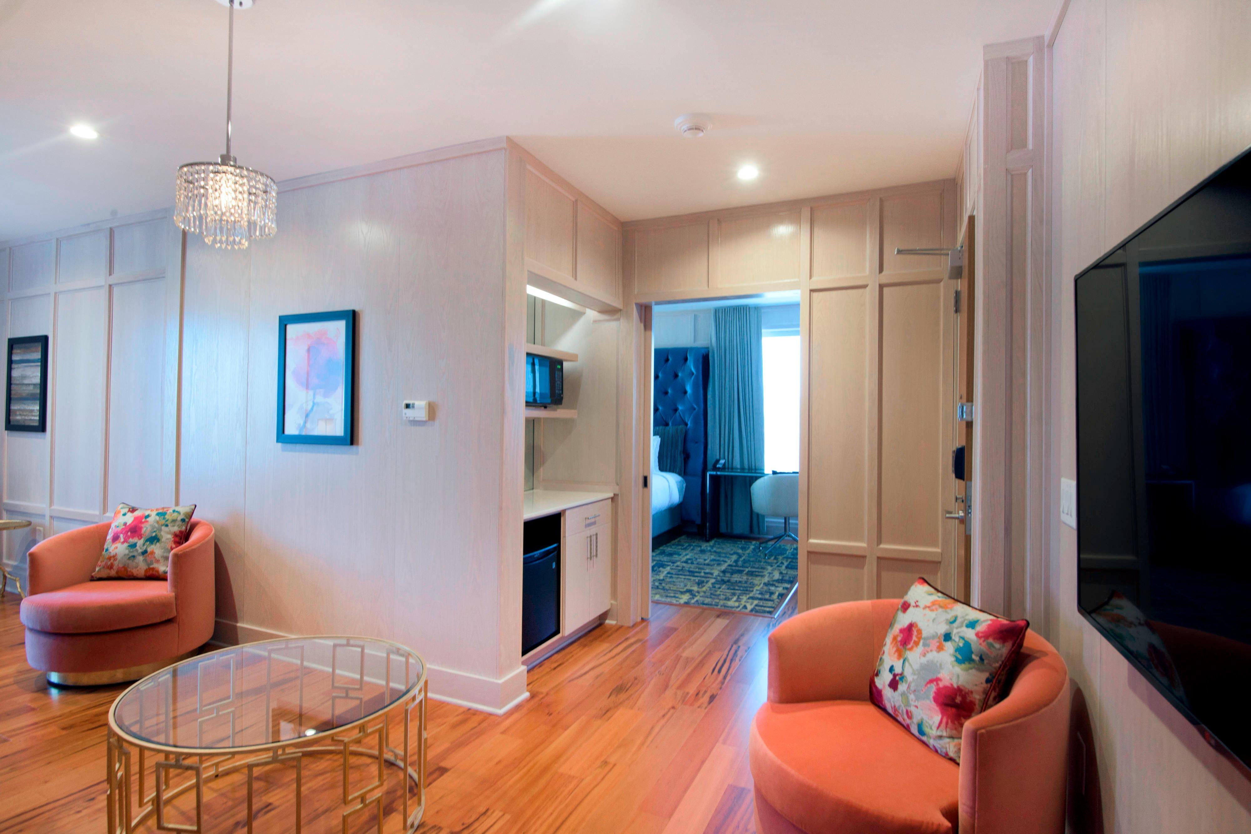 Bridal Suite sitting area
