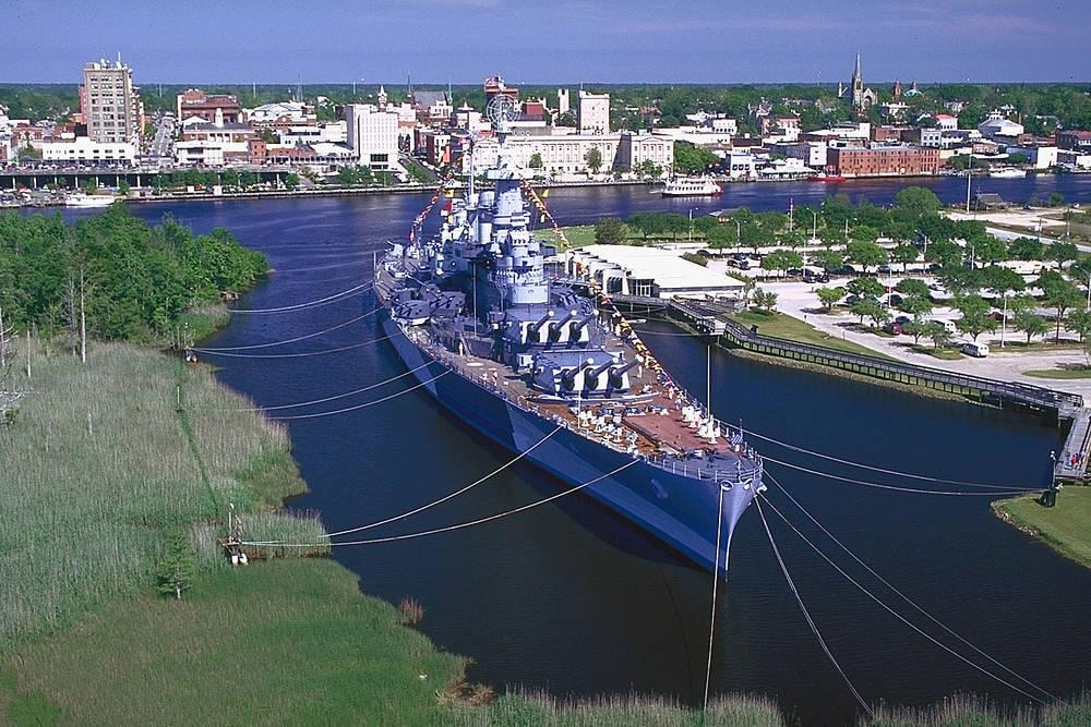 USS North Carolina Battleship – Wilmington Fairfield Inn