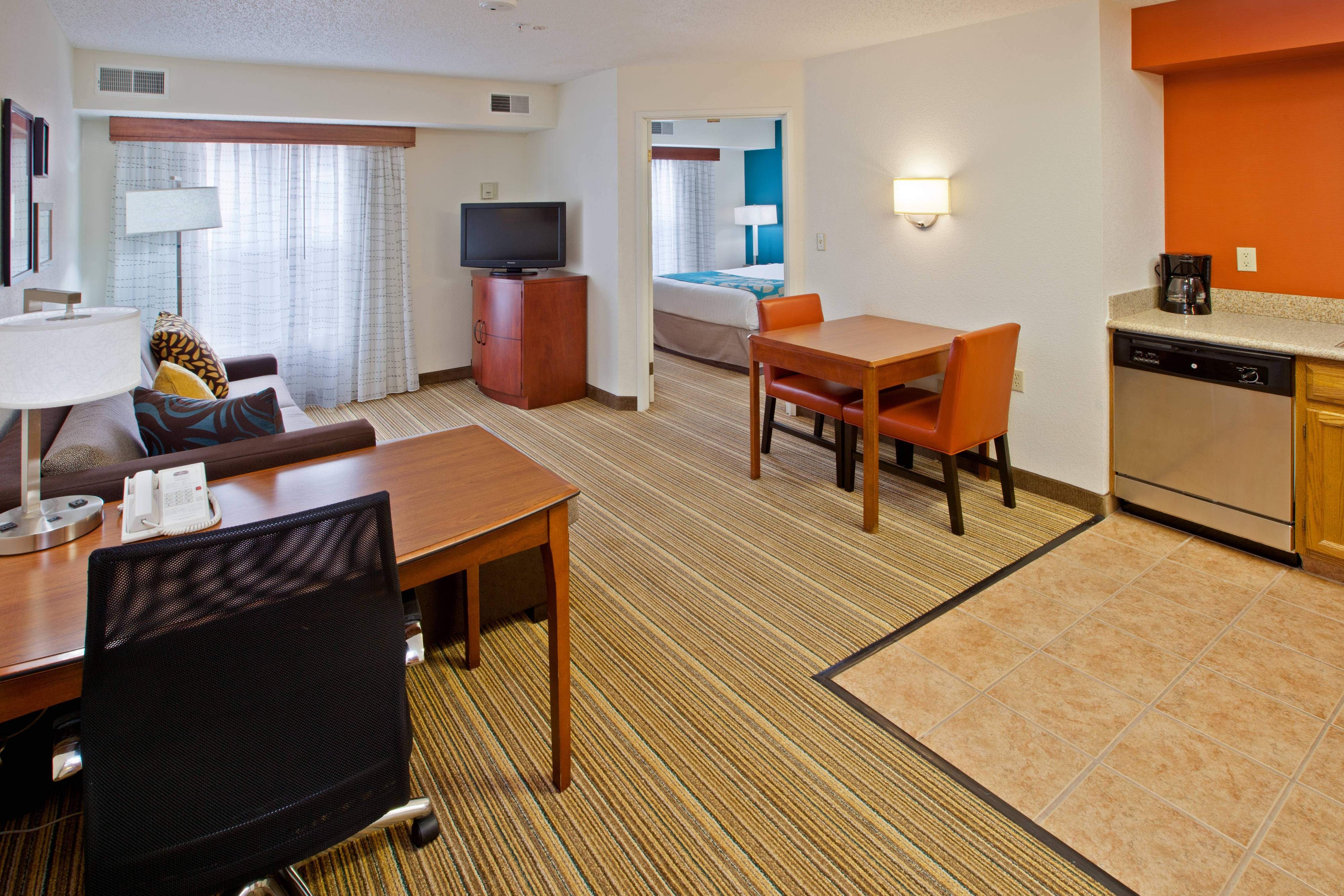 Residence Inn Indy Canal One-Bedroom Suite