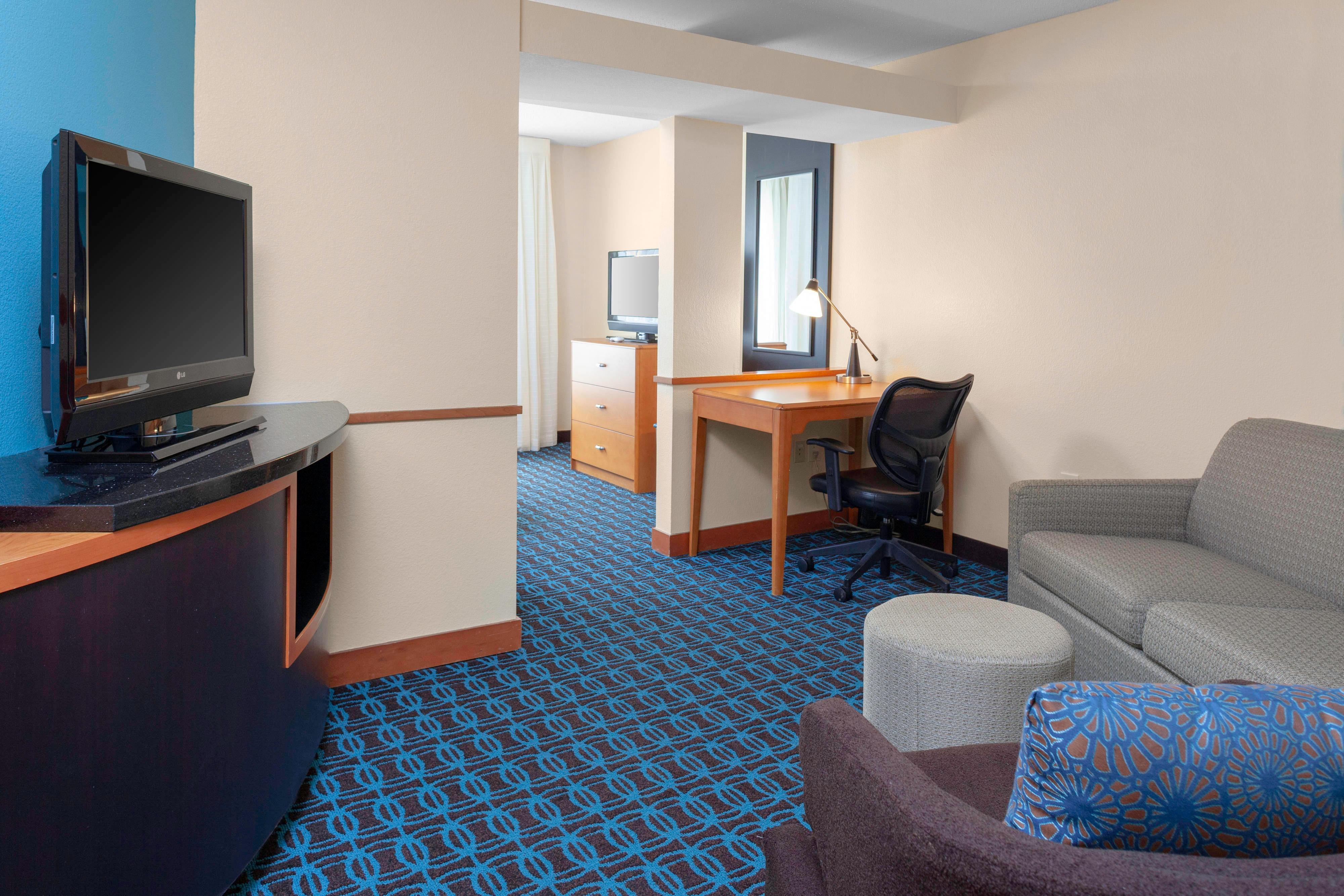 Suite Executive avec lit king size - espace salon