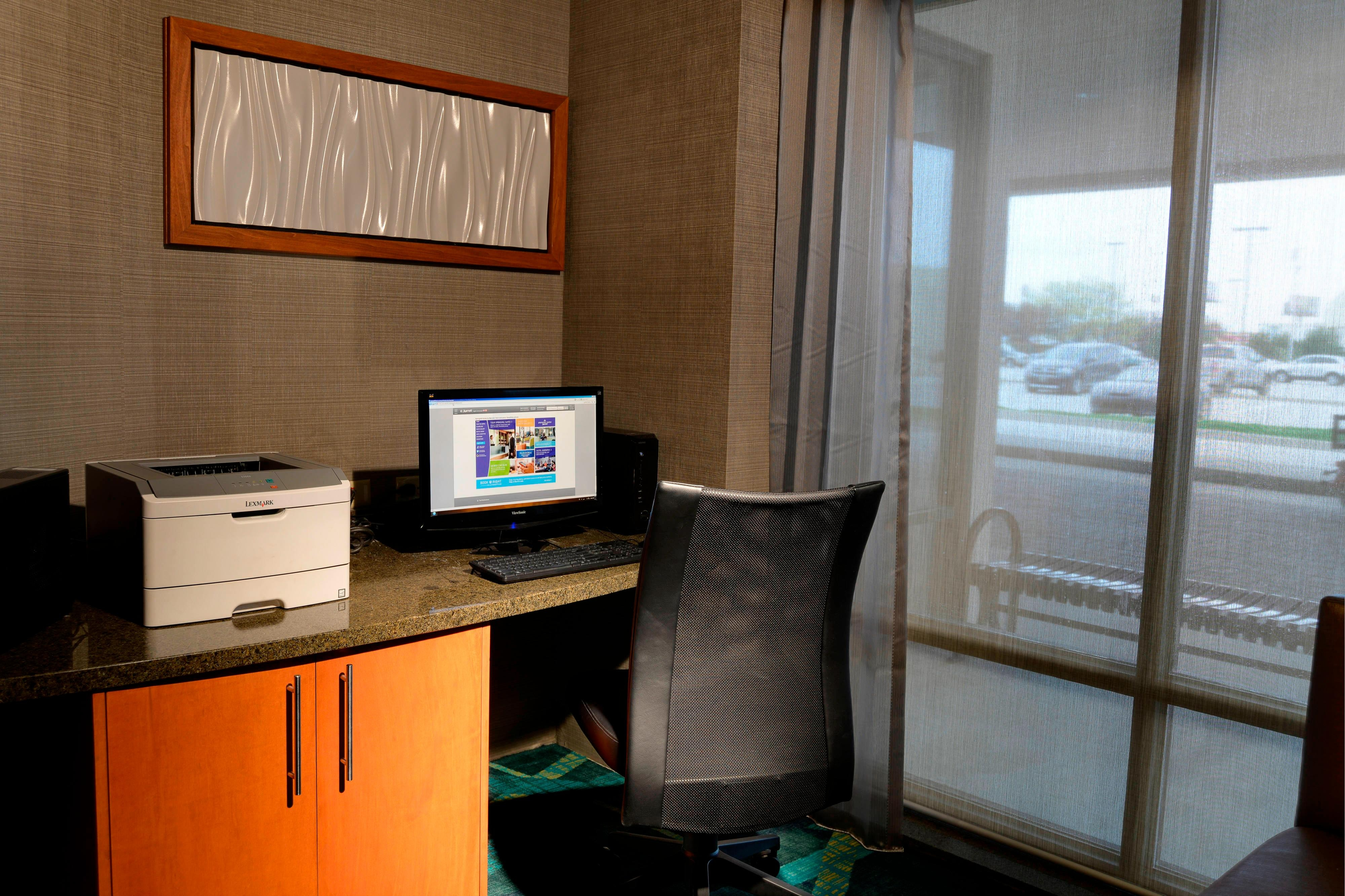 SpringHill Suites Business Center