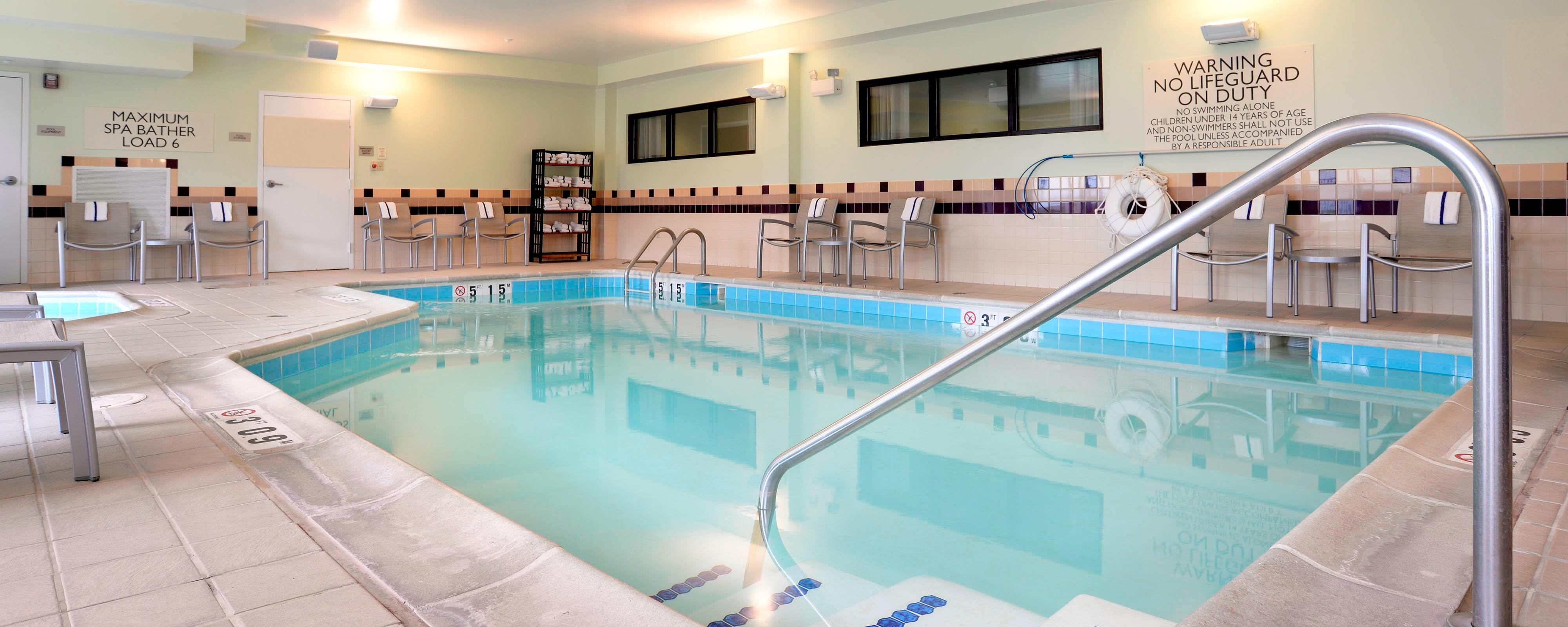 SpringHill Suites Terre Haute Indoor Pool