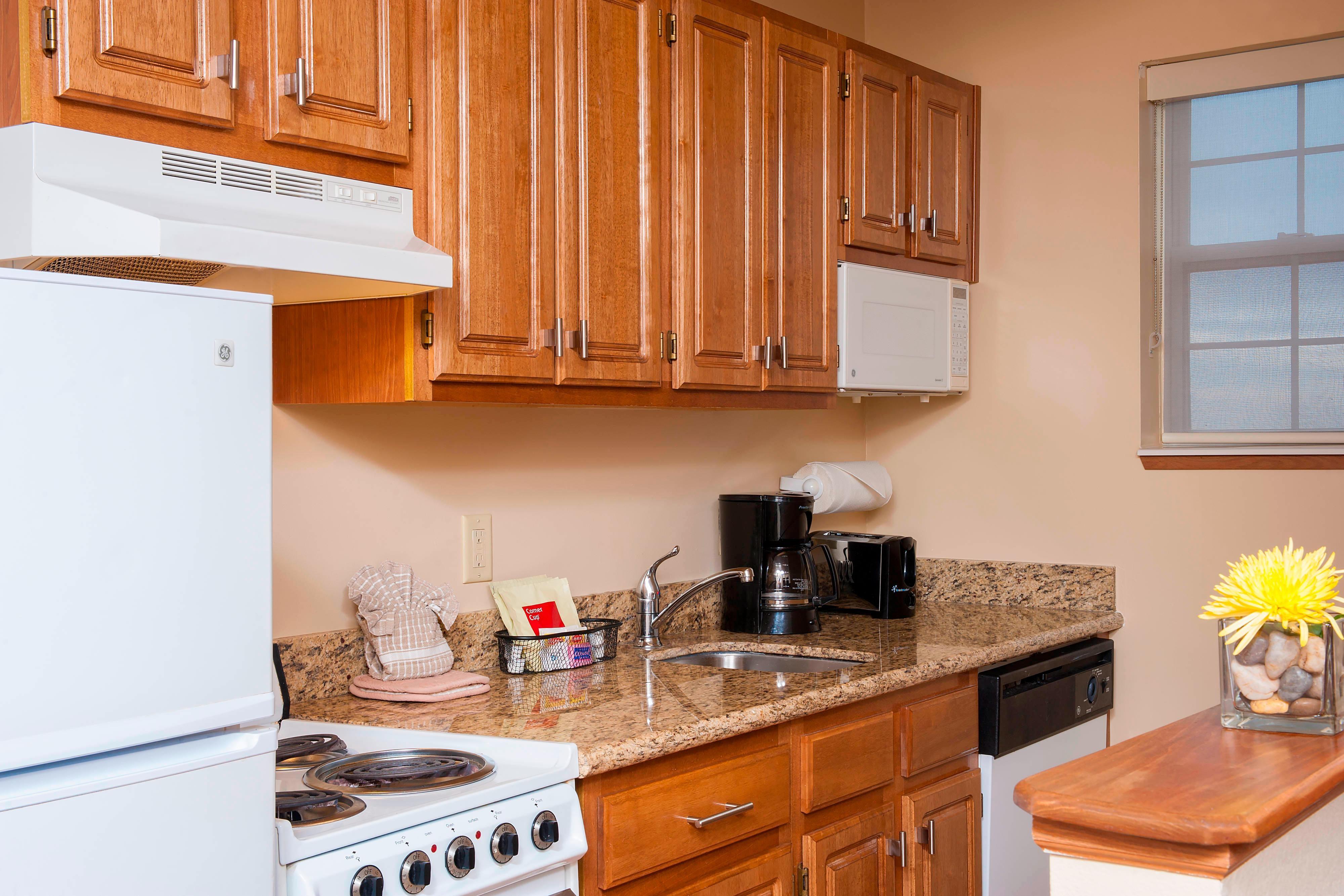 Two-Bedroom Suite - Kitchen