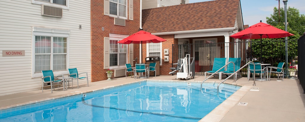 Indianapolis Hotel Pool Fitness Center At Towneplace Suites Hotel
