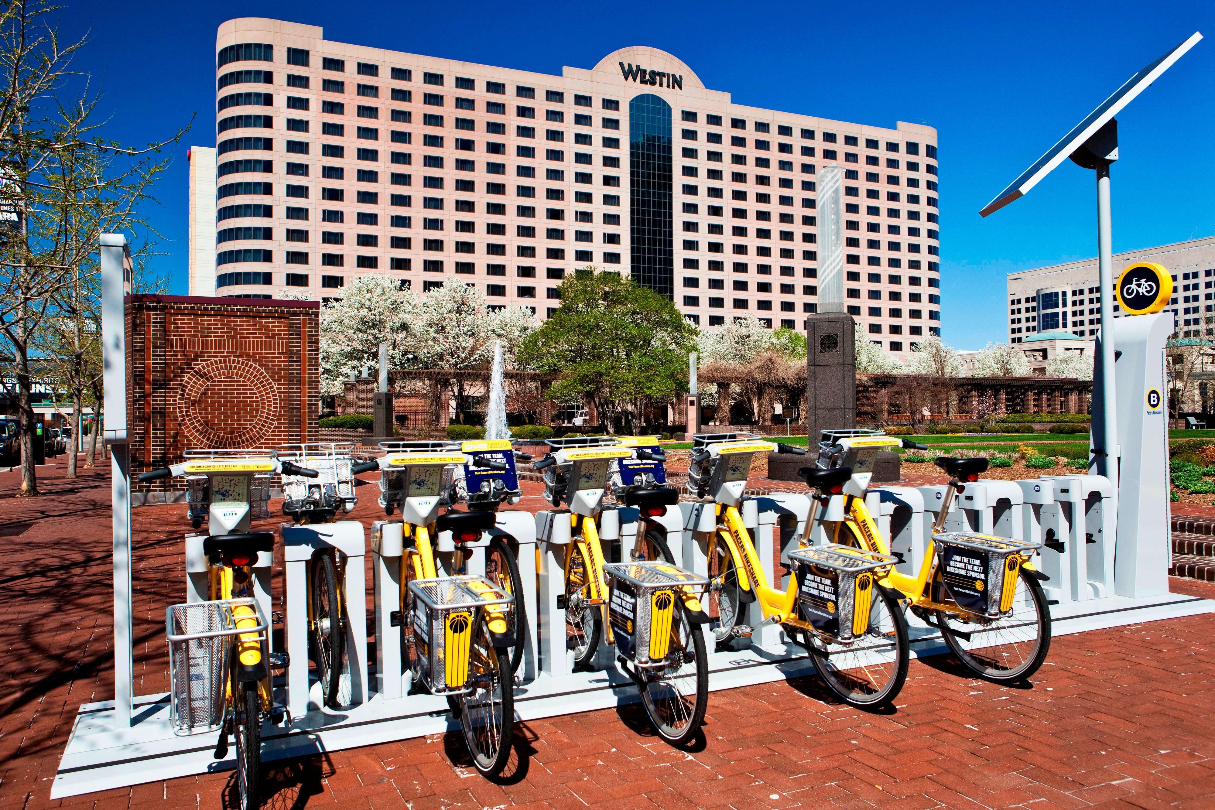Explore Indy on Bikes