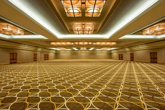 Grand Ballroom with High Ceilings