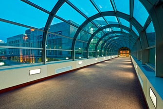 Connecting Skywalk to Convention Center