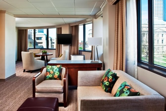 Capitol Suite - Living Area