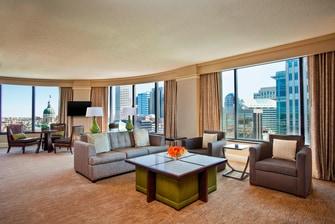 Chairman's Suite - Living Area