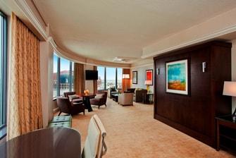 Director's Suite - Living Area