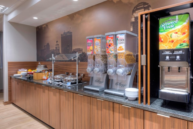 Fairfield Inn & Suites Breakfast Buffet