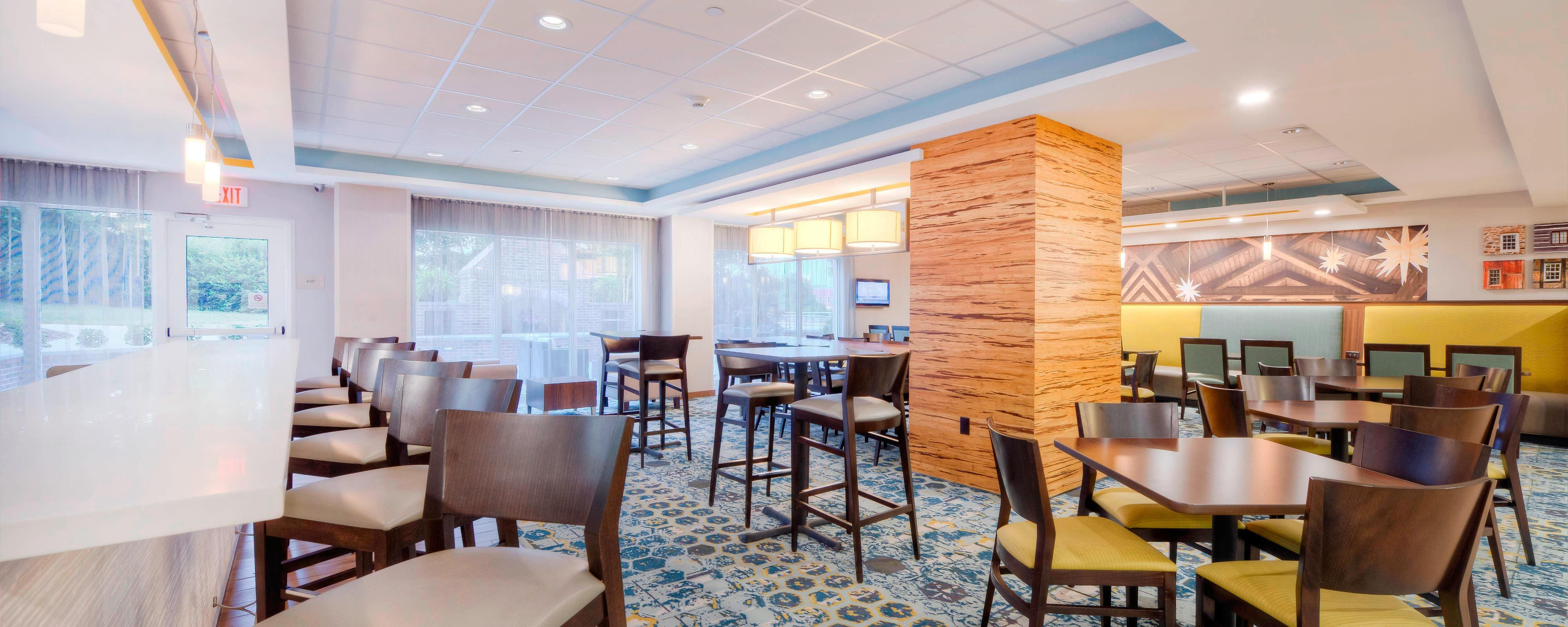 Hotel Dining Restaurants Fairfield Inn Suites Winston