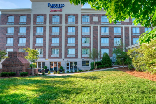 Fairfield Inn & Suites Winston Salem Downtown Exterior