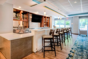 Fairfield Inn & Suites Winston Salem Downtown Bar