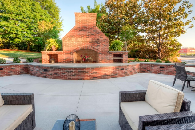 Fairfield Inn Winston-Salem Patio & Fireplace