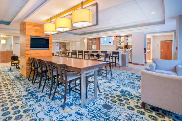 Fairfield Inn Winston-Salem Communal Table