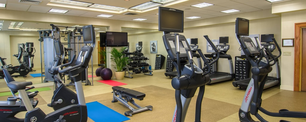 Winston-Salem Marriott Fitness Center