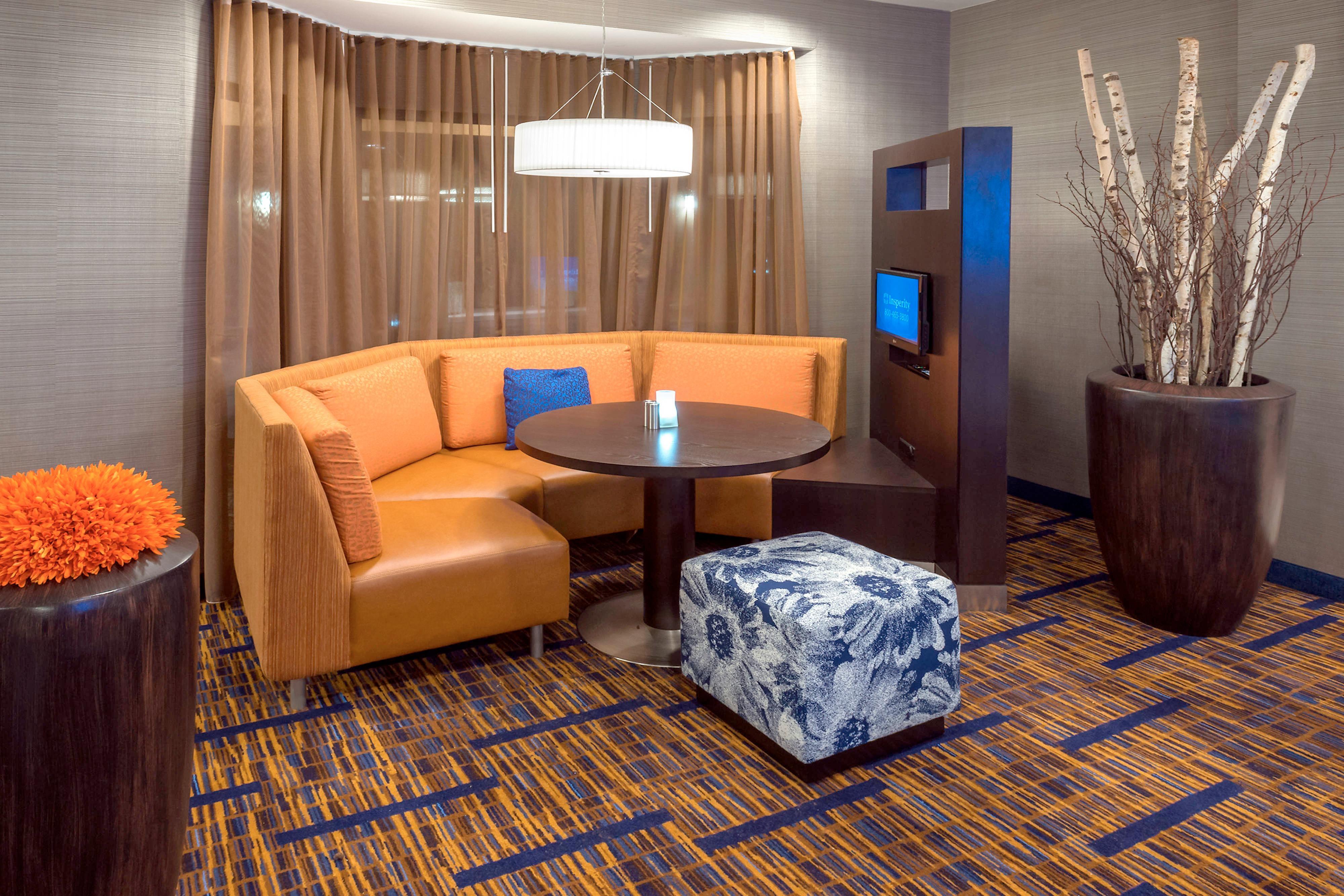 hotel lobby in winston salem
