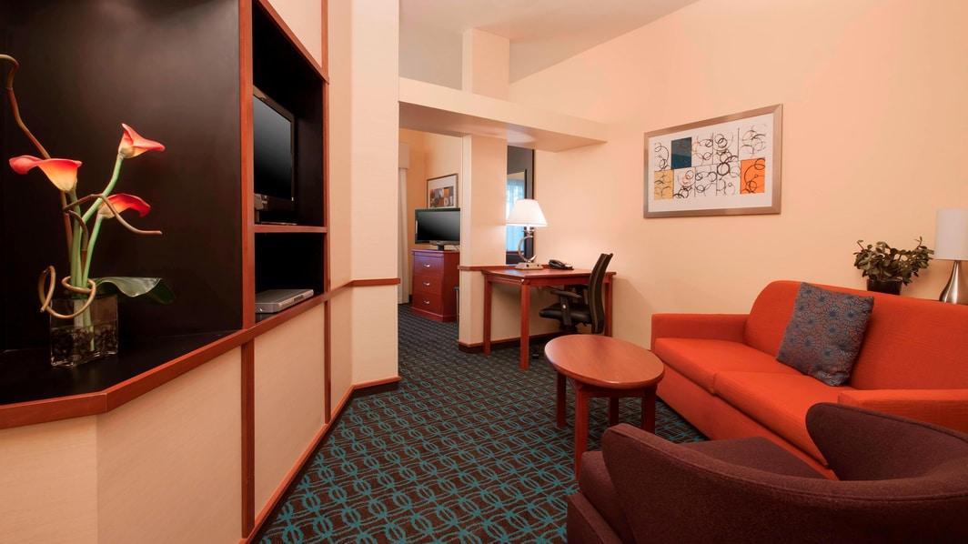 Studio King del hotel en El Centro