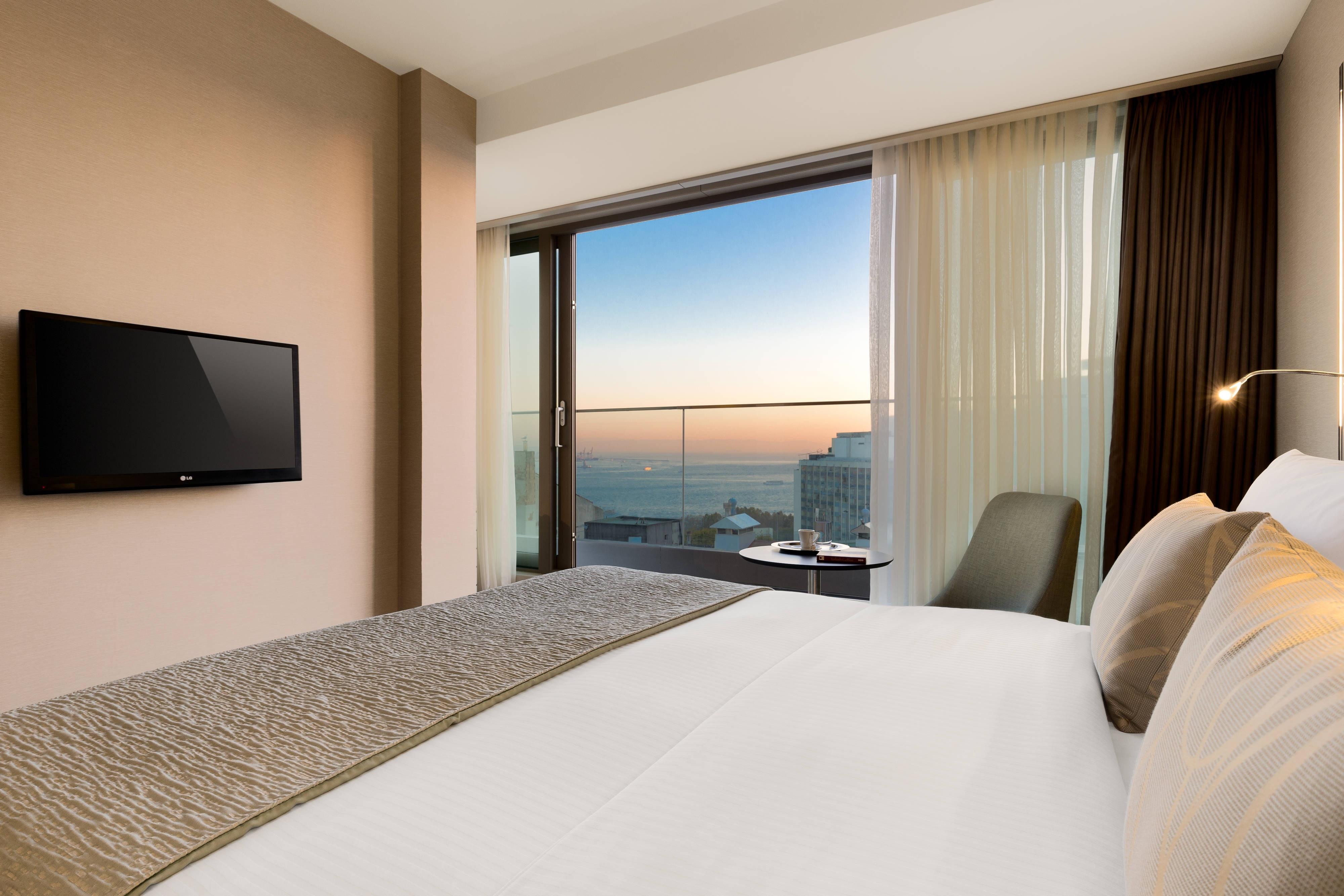 Suite con letto matrimoniale King – Vista sul Bosforo
