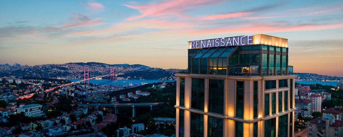 Istanbul Hotel Bosphorus Renaissance Hotel In Istanbul Downtown