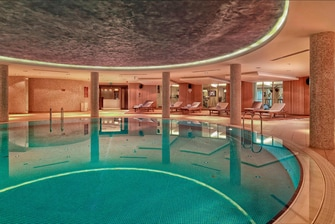 Indoor Pool at Courtyard Marriott Istanbul Turkey