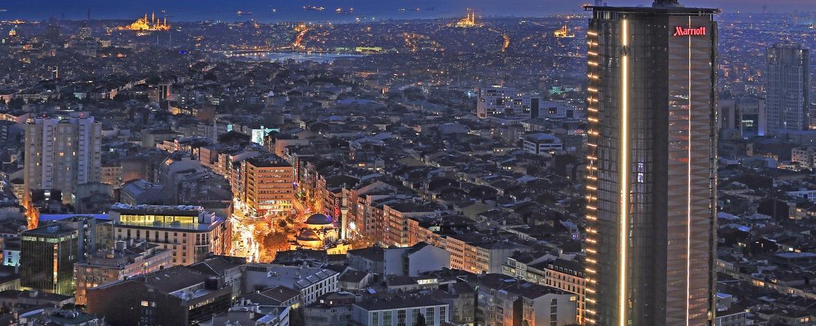 Istanbul luxury hotel exterior