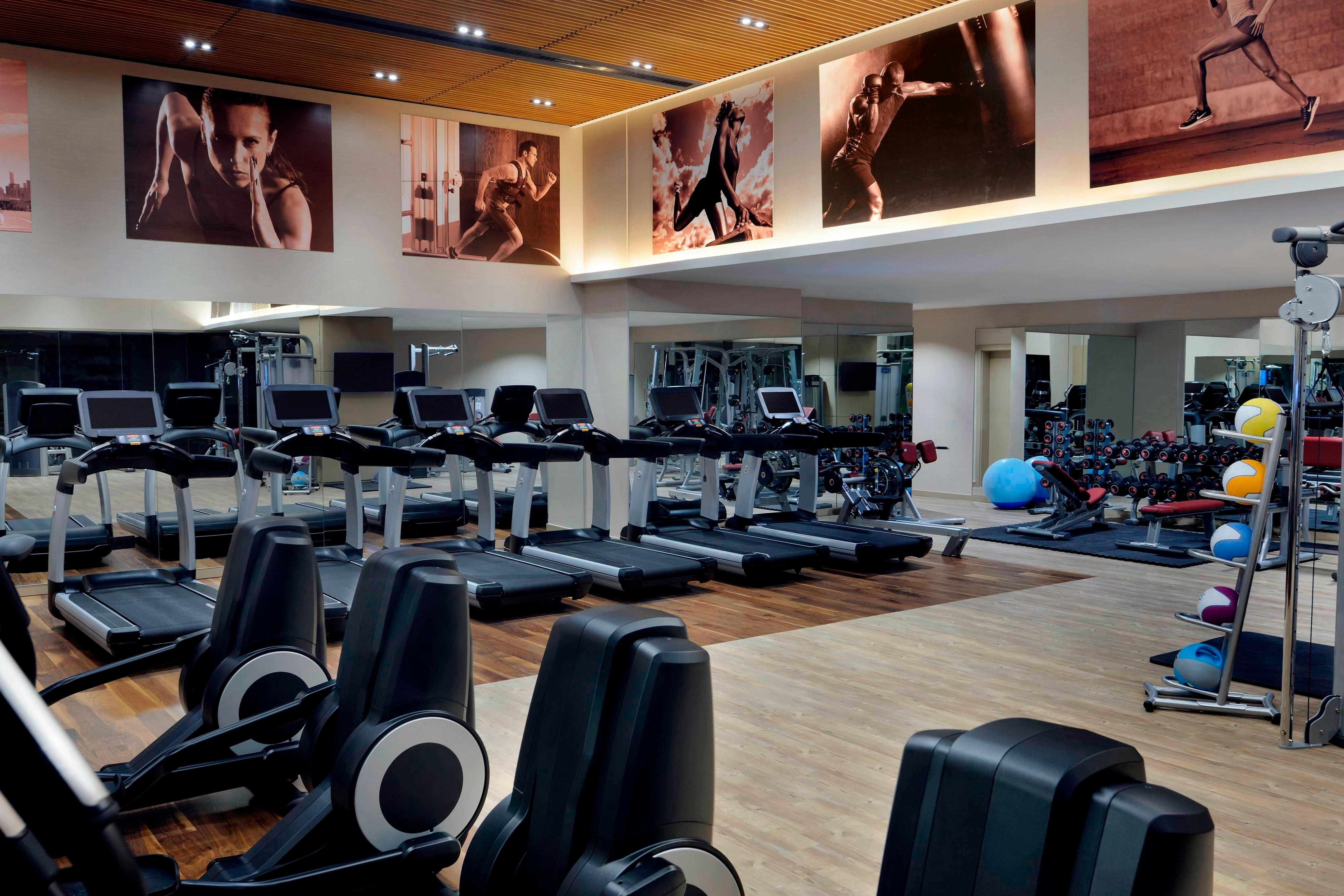 Istanbul hotel fitness center