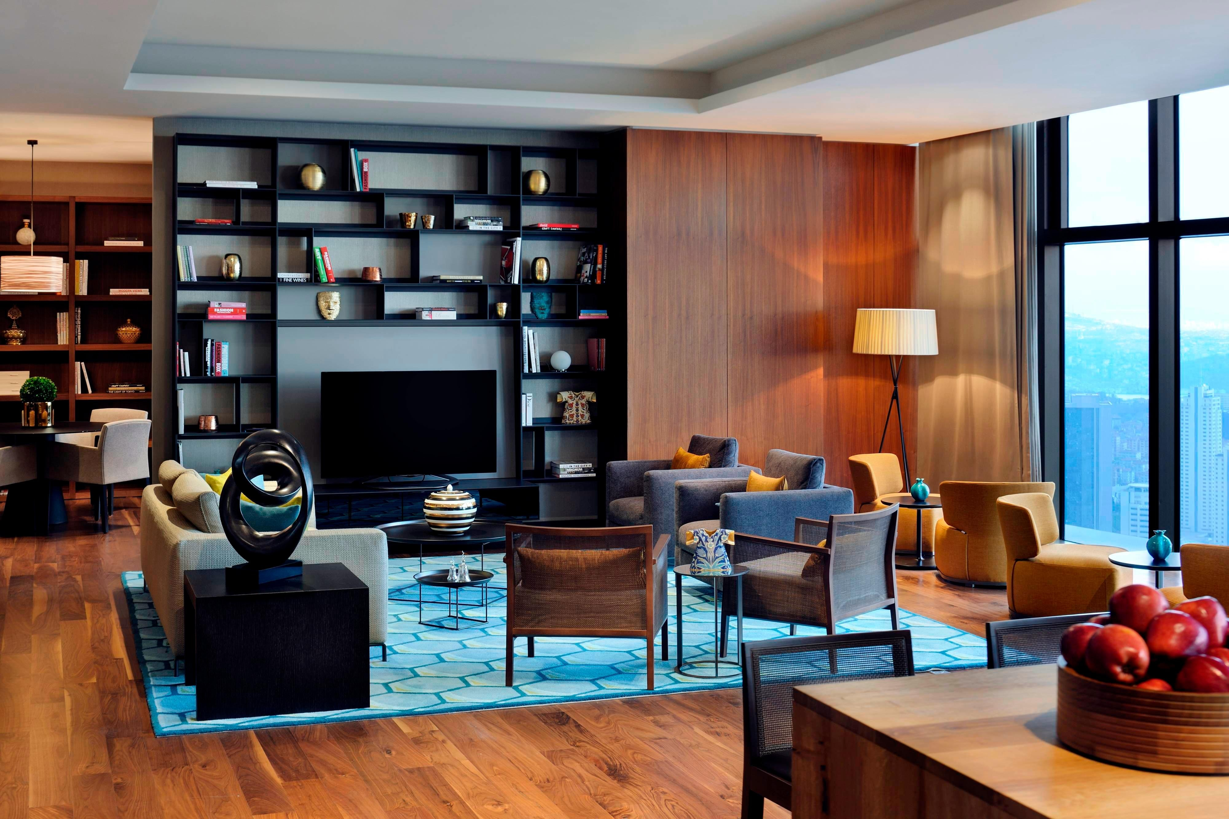 Executive-Lounge in Hotel in Istanbul