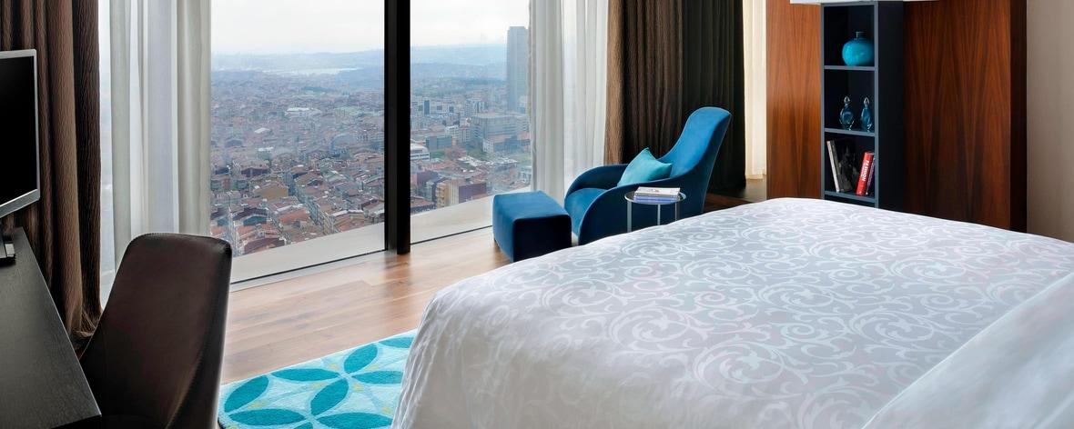 Presidential suite in Istanbul hotel