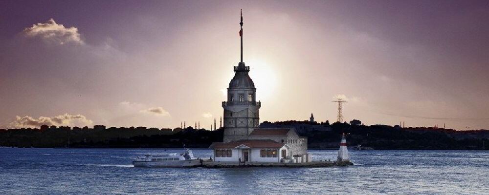 Maiden's Tower; symbol of Istanbul