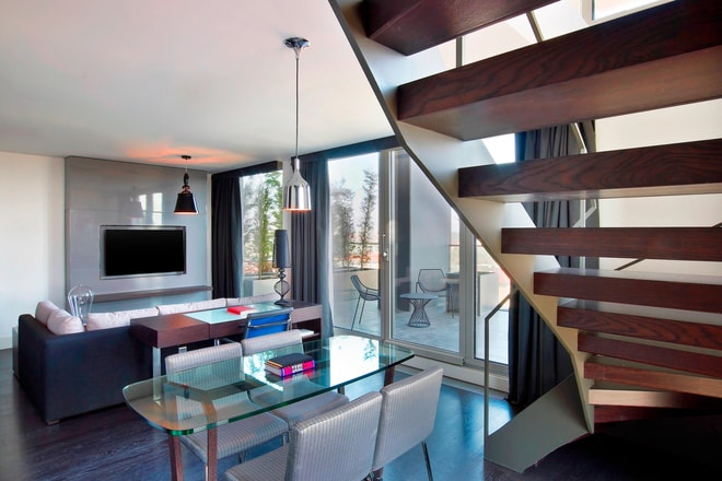 Loft Suite offers stunning Istanbul view in two separate floors