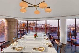 Spago private dining room