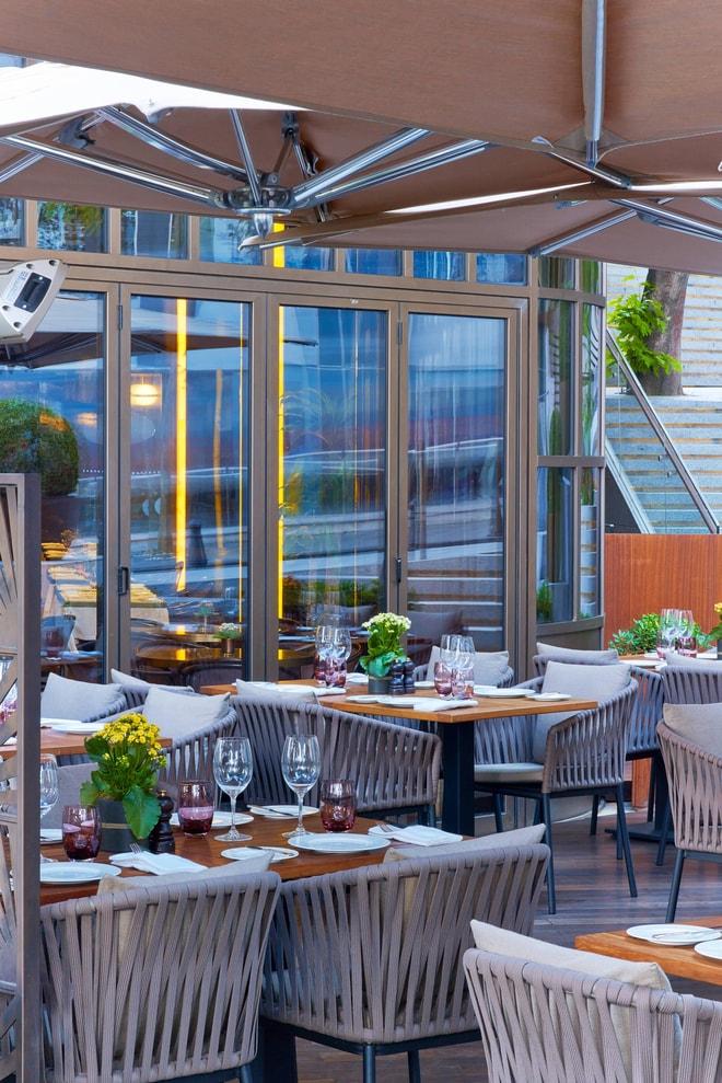 St Regis Brasserie Terrace