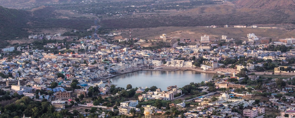 Pushkar - Aerial View