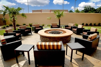 Courtyard Jackson Airport Outdoor Fire Pit