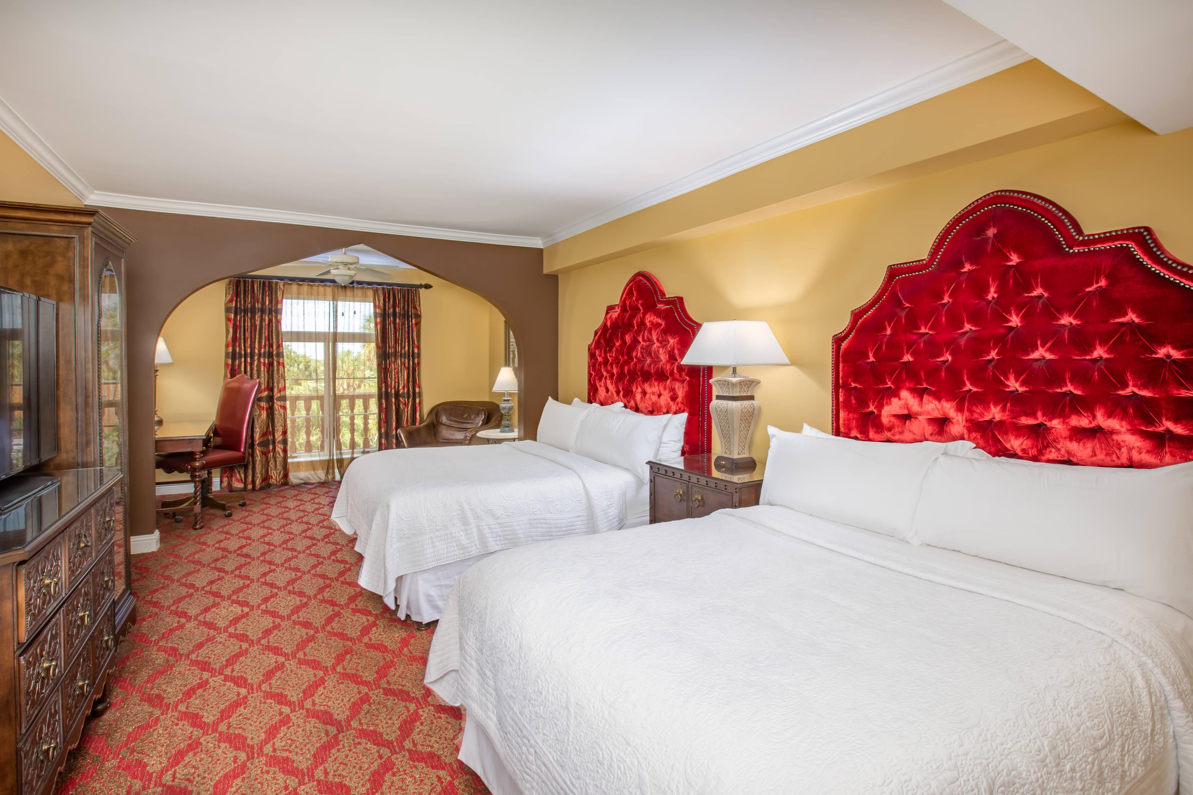 Premium-Gästezimmer mit zwei Queensize-Betten