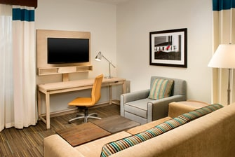 Accessible King Suite - Living Room