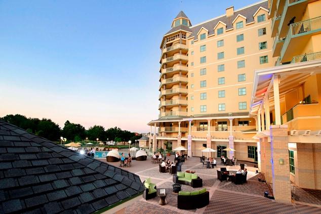 St Augustine resort outdoor venue