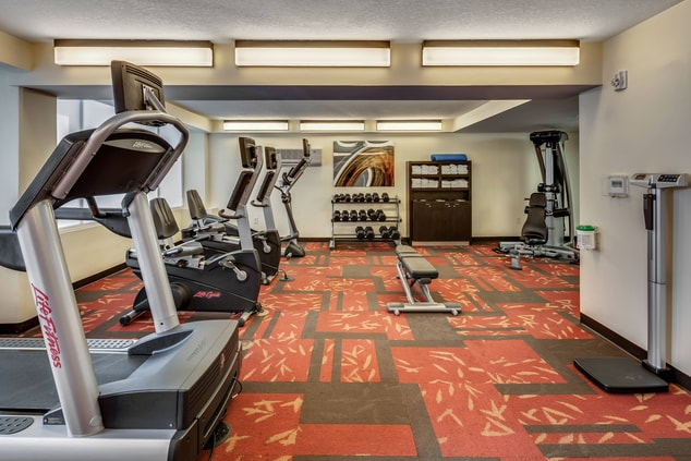 Courtyard Jacksonville Beach Hotel Fitness Center