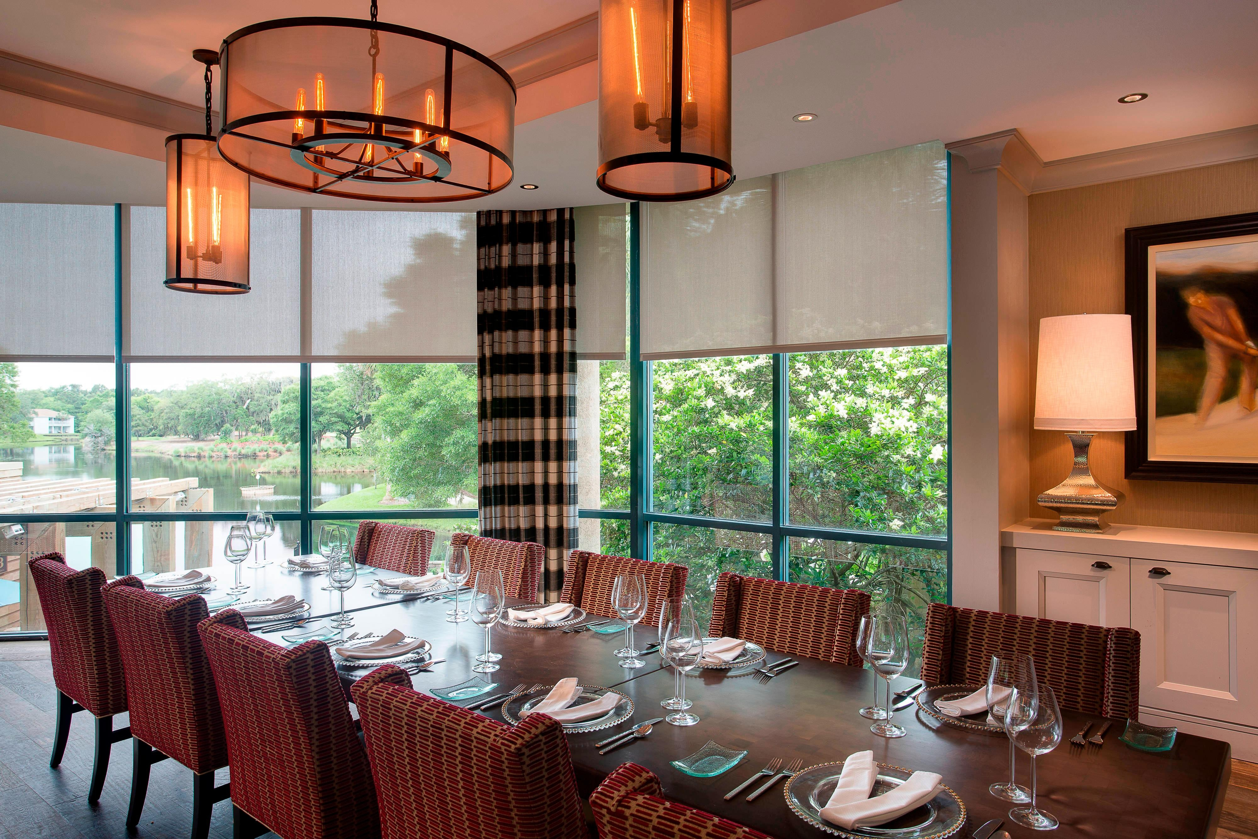 Jacksonville Beach Resort Private Dining