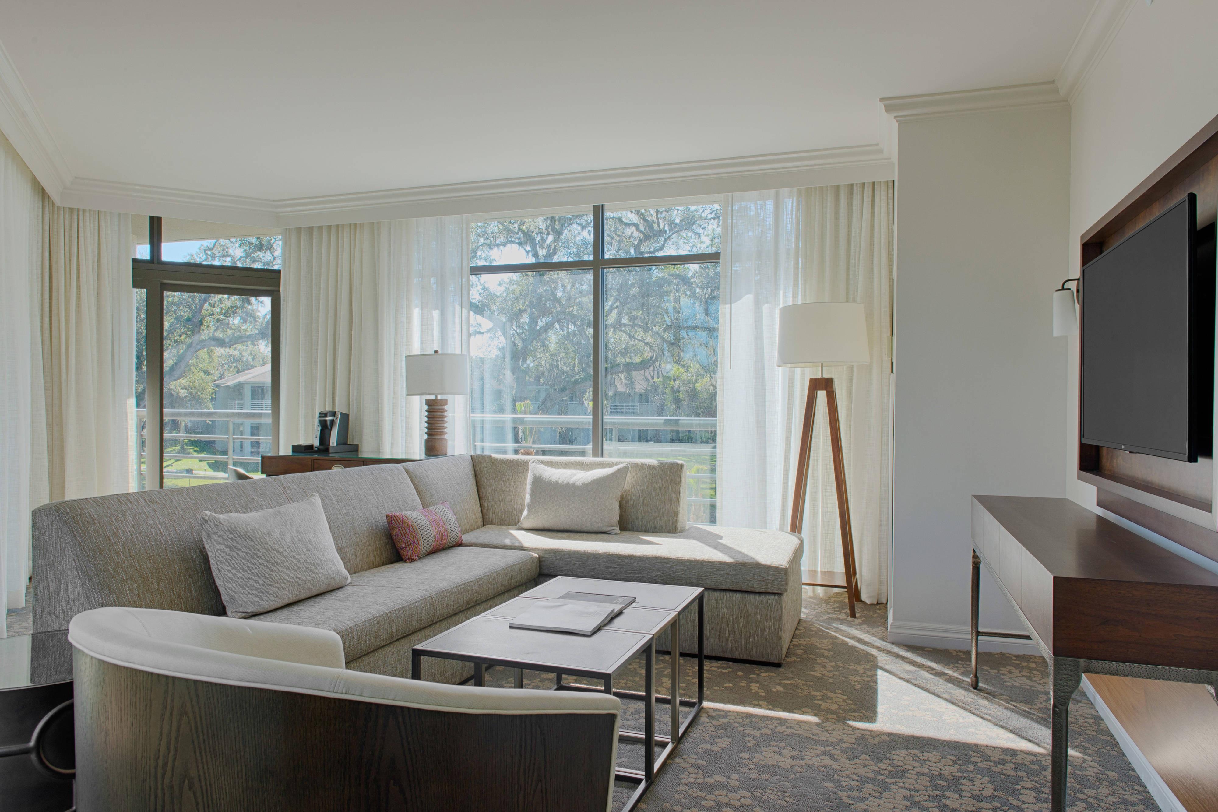 Premium Service Suite Living Area